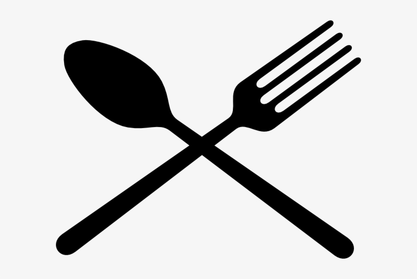 Crossed Fork And Spoon Png - Black Fork And Spoon Cross Clip Art At Clipart Library - Spoon And ...