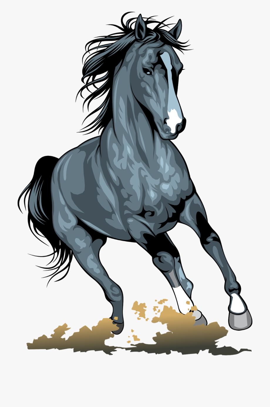 Black Horse Png Realistic Animal Vecto 1251439 Png Images Pngio