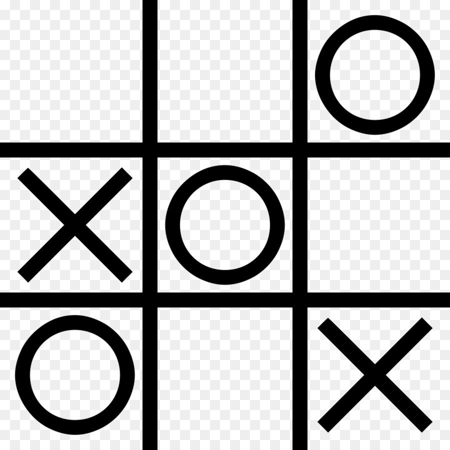 Tic Tac Toe Png - Black Line Background png download - 980*980 - Free Transparent ...