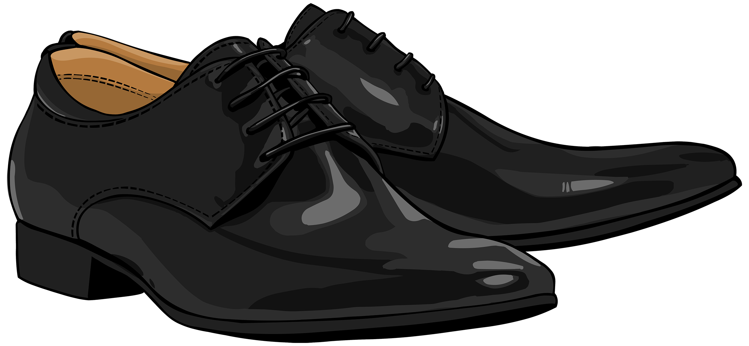 Shoes Clipart Png - Black Men Shoes PNG Clipart - Best WEB Clipart