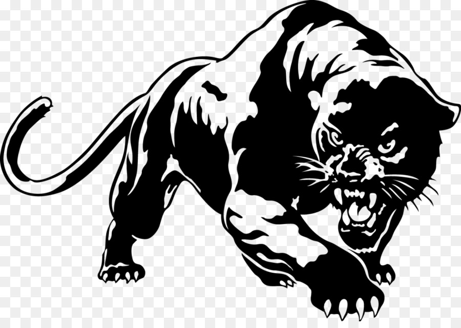 Panther Png Black And White & Free Panther Black And White ...