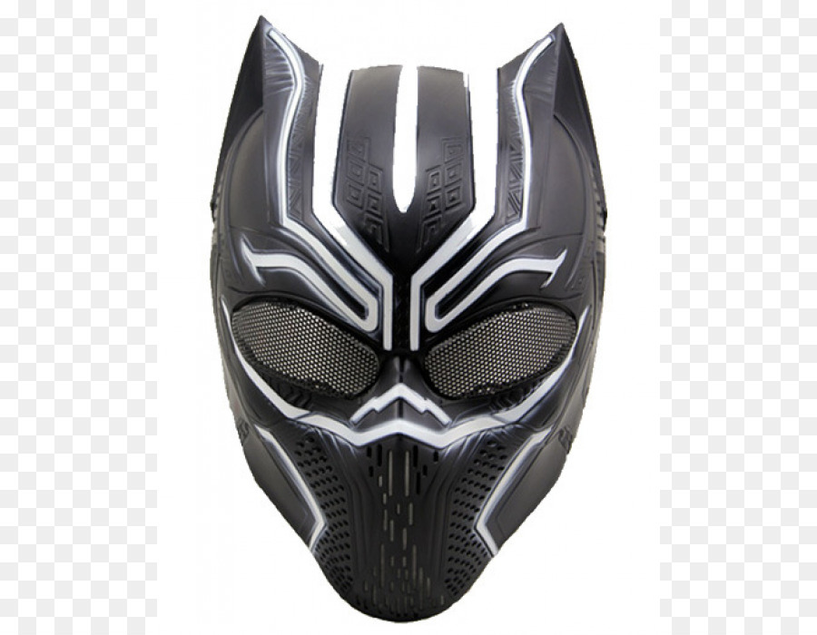 Black Panther Mask Png - Black Panther Mask Airsoft Cosplay Costume - Black Panther mask ...