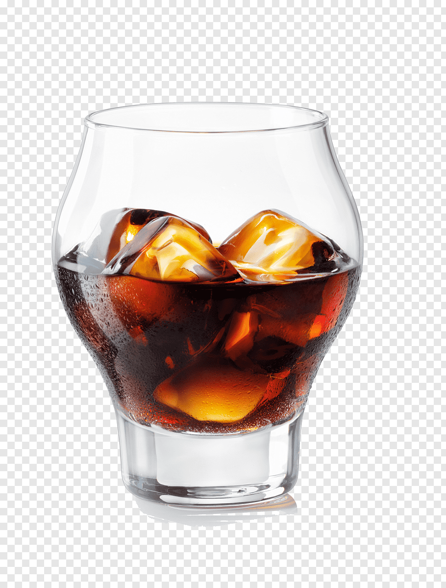 Amaro Png - Black Russian Liqueur Amaro Averna Negroni, ice glass PNG   PNGWave