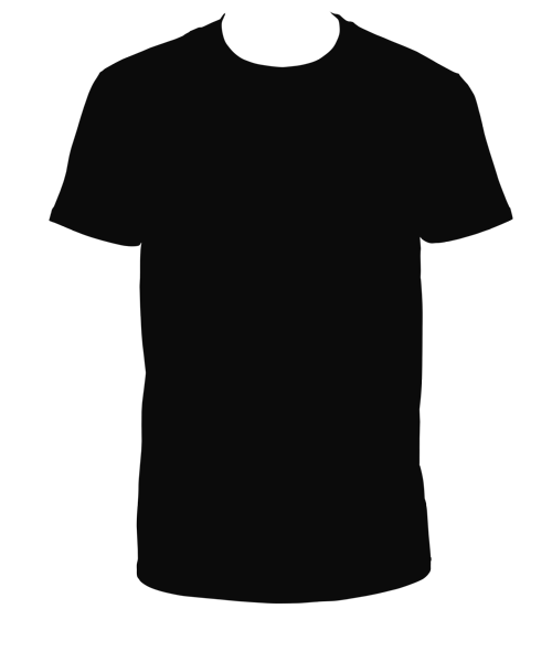 T Shirt Png - Black T-Shirt PNG