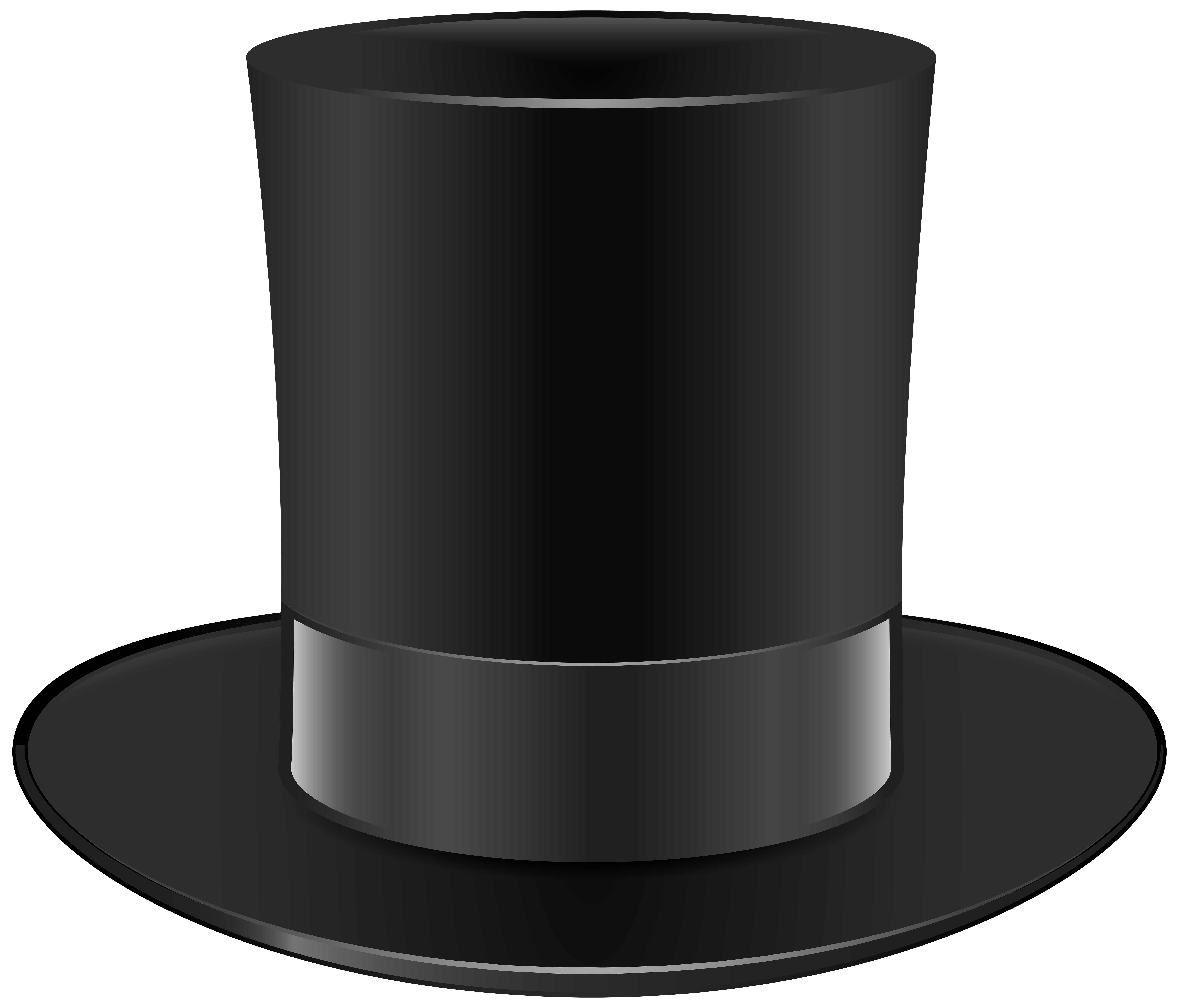 Types Of Art Png - Black Top Hat PNG Clip Art - Best WEB Clipart