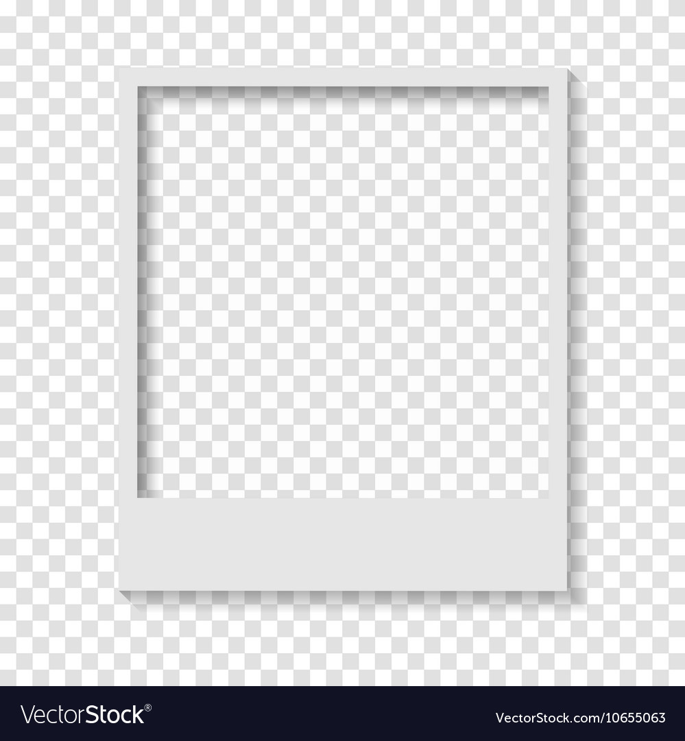 Blank Transparent Paper Polaroid Photo F 878589 Png Images Pngio