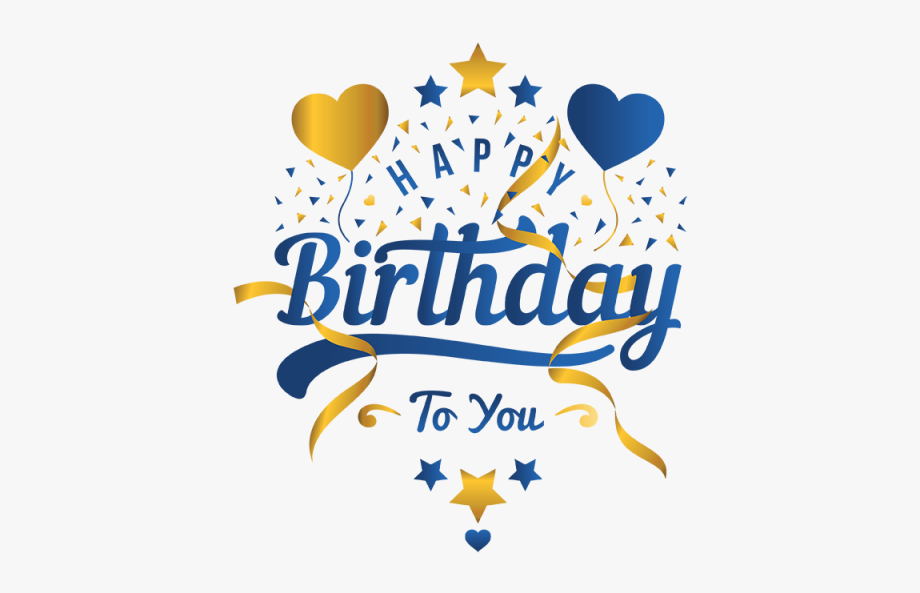 Birthday Png Images - Blast Vector Birthday - Transparent Background Happy Birthday Png ...