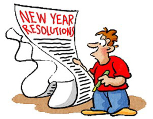 New Year Resolution Png - blog, New Year Resolutions 2016, to-do list, Unnati Silks