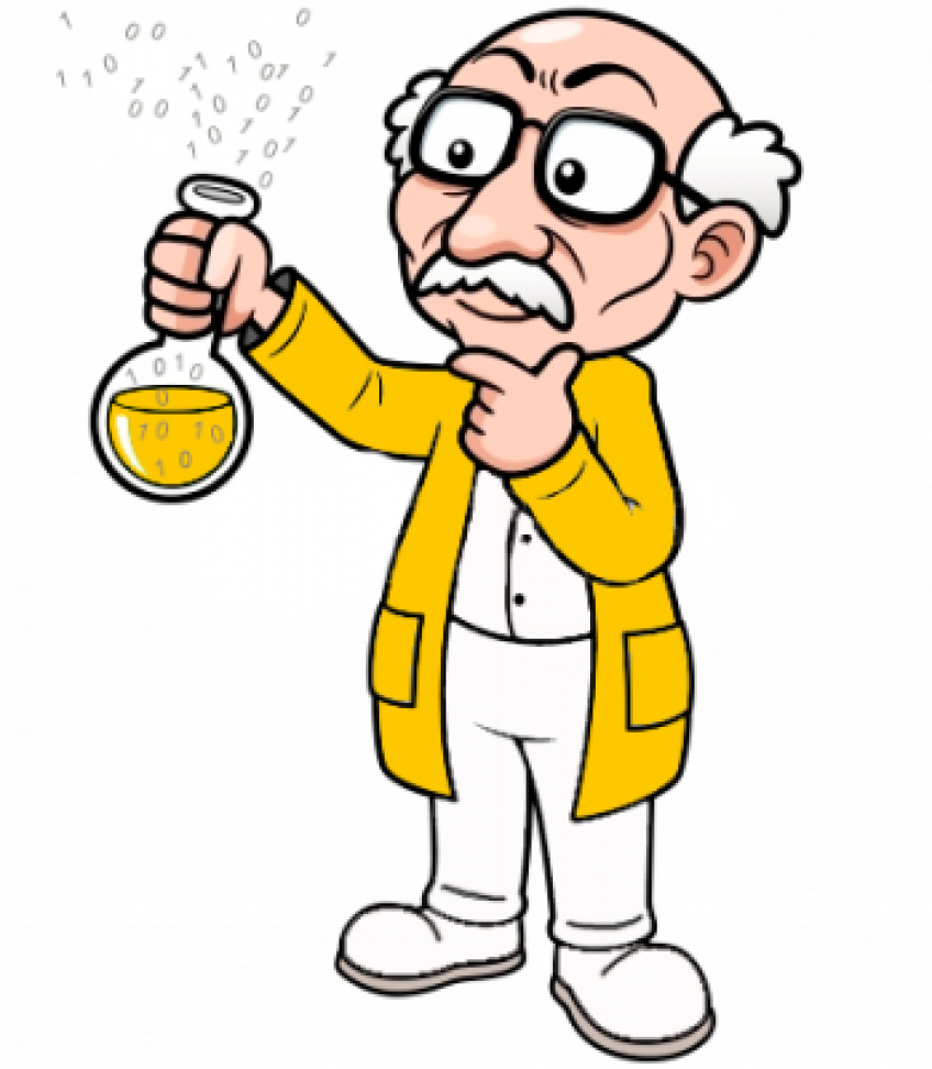 Thinking scientist. Png free transparent