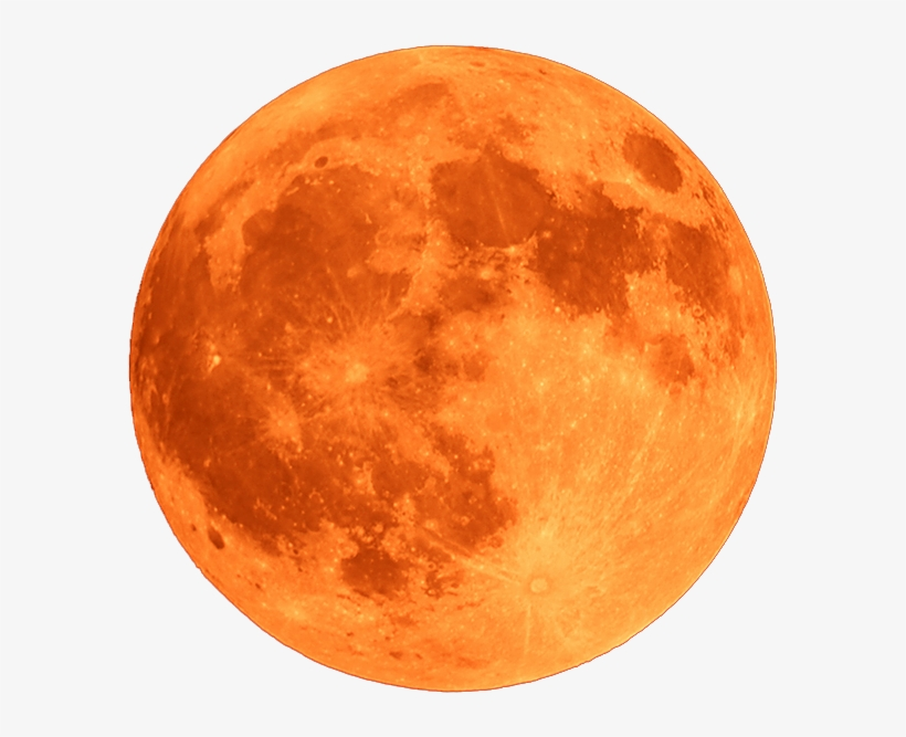 Red Moon Png - Blood Moon Png - Crater Copernicus On The Moon - Free Transparent ...