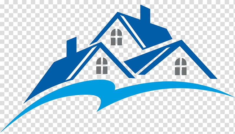 Blue And Brown House Illustration Logo 1198136 Png Images Pngio