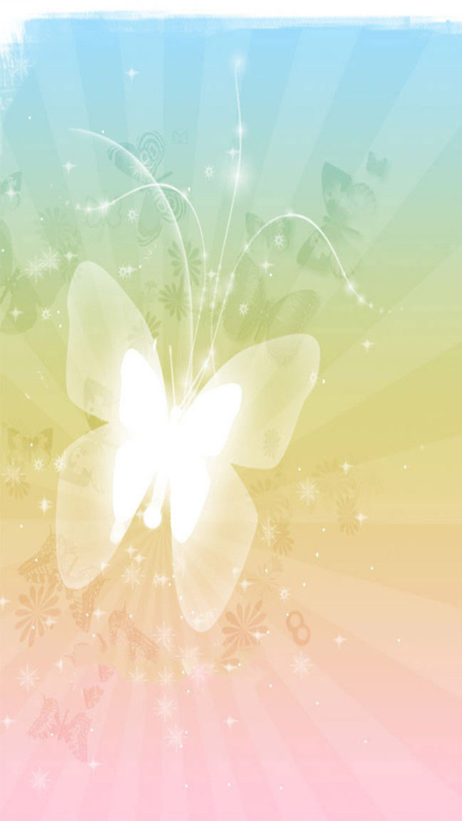 Free Butterfly Png For Commerical Use - Blue And Red Butterfly H5 Background Material, Blue, Red ...