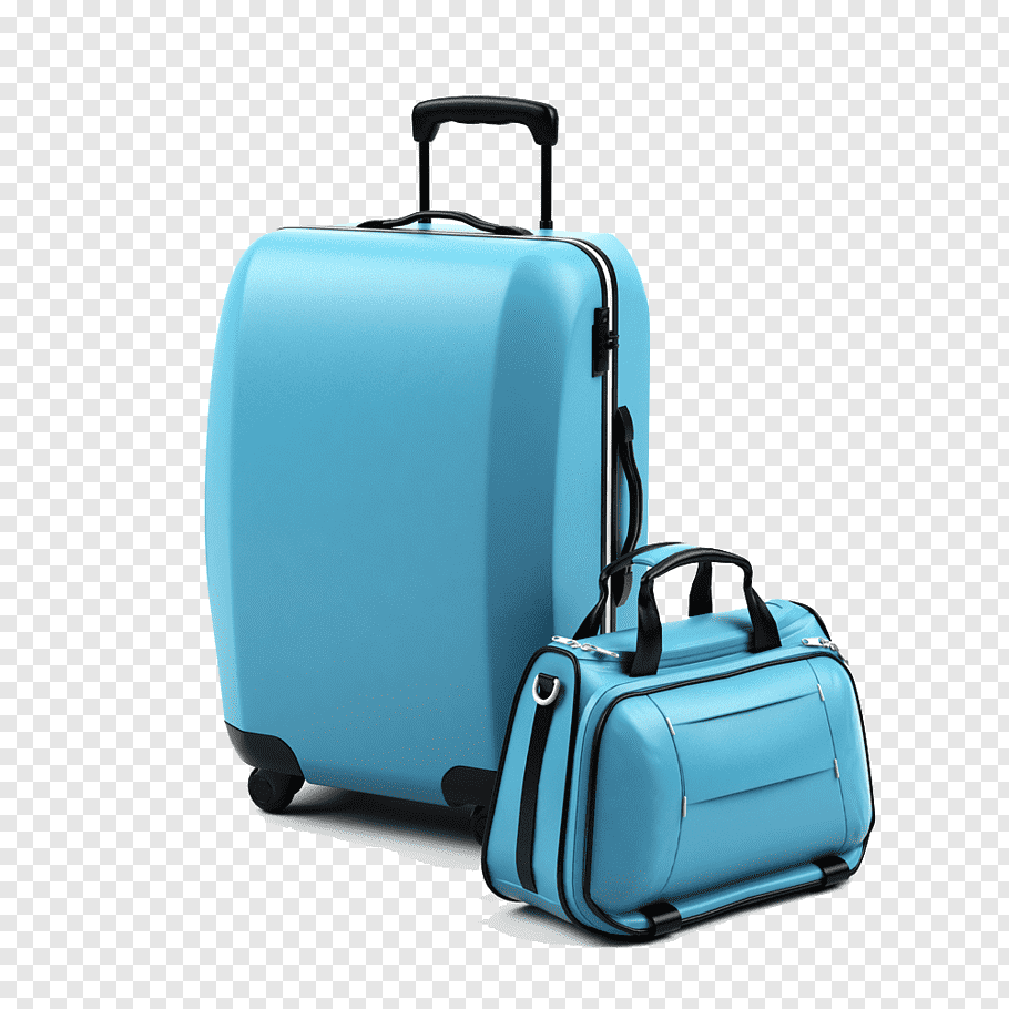 Travel Bags Png - Blue travel luggage, Baggage Suitcase Luggage scale Travel ...