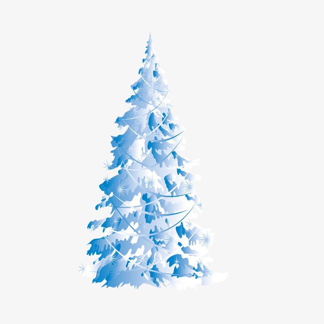 Christmas tree blue. Winter png free transparent
