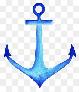 Anchor Png - blue watercolor anchor, Watercolor Clipart, Anchors, Watercolor Marine PNG  Image and Clipart