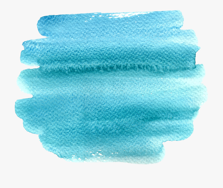 Blue Watercolor Painting Brush Transpa 2378696 Png Images Pngio