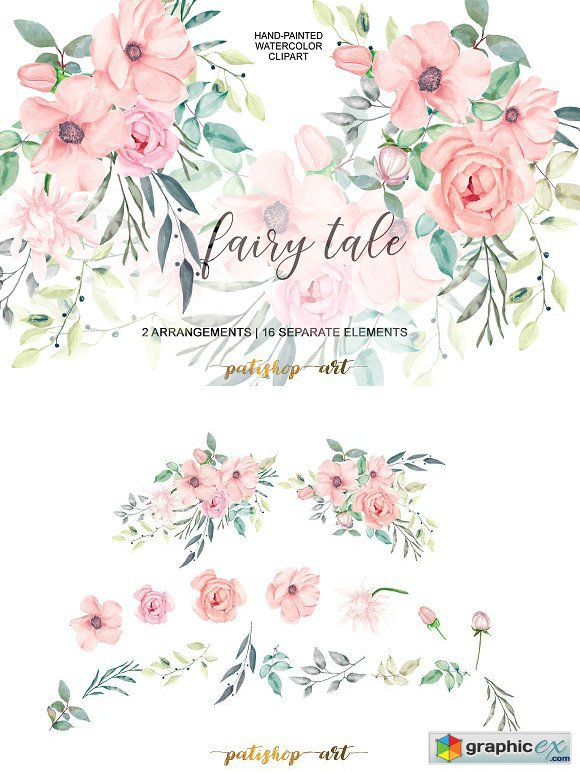 Blush Watercolor Flowers Amp Free Blush Watercolor Flowers