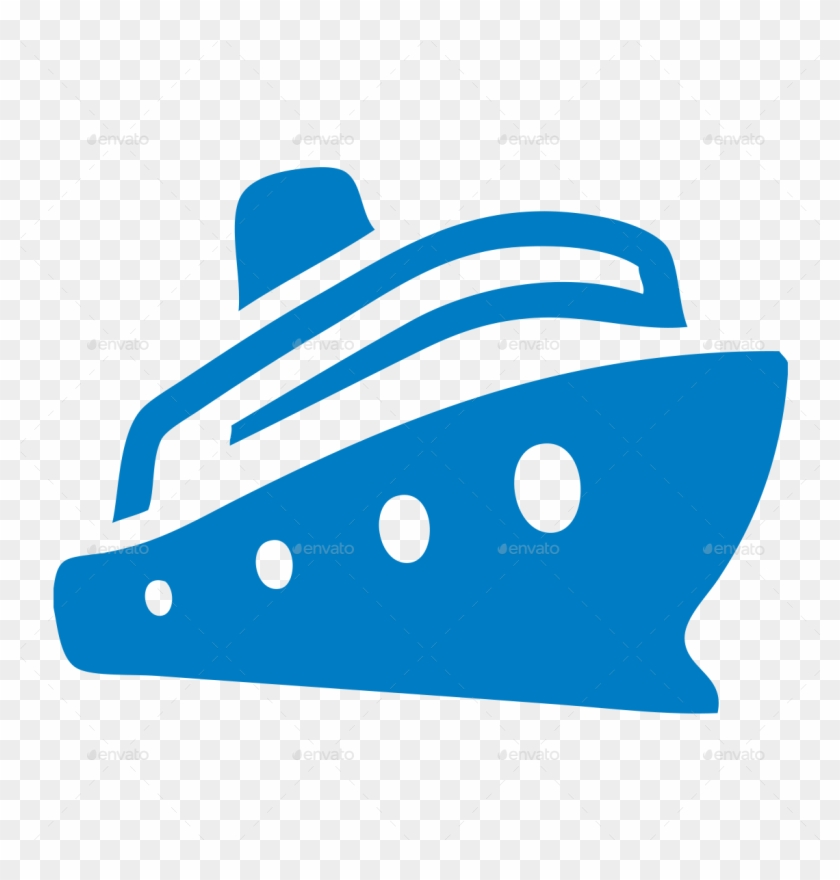 Ferry Icon Png - Boat, Cruise, Ferry, Ferryboat, Liner, Nautical, Sea, - Cruise ...