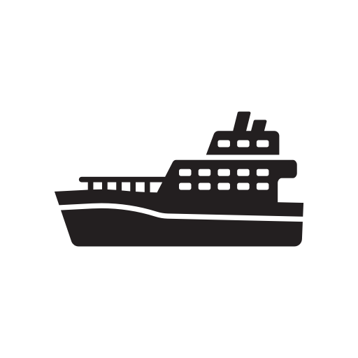 Ferry Icon Png - Boat, ferry, ship, train, transport, transportation icon