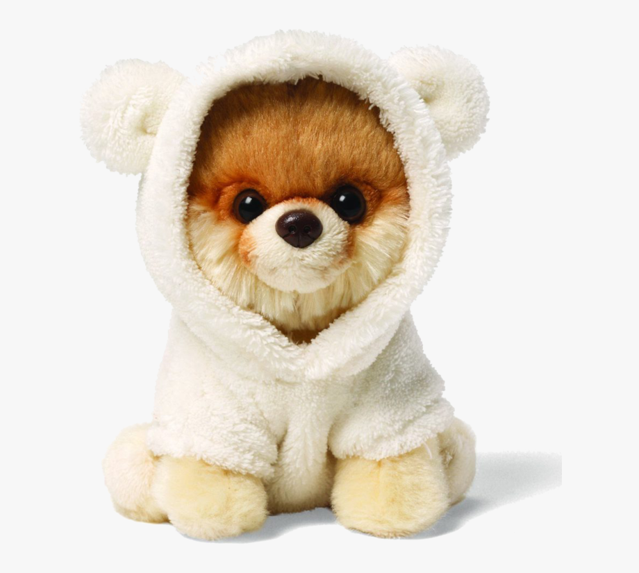 Boo The Dog Png - Boo Dog Png Clipart - Boo The Dog Stuffed Animal #656420 - Free ...