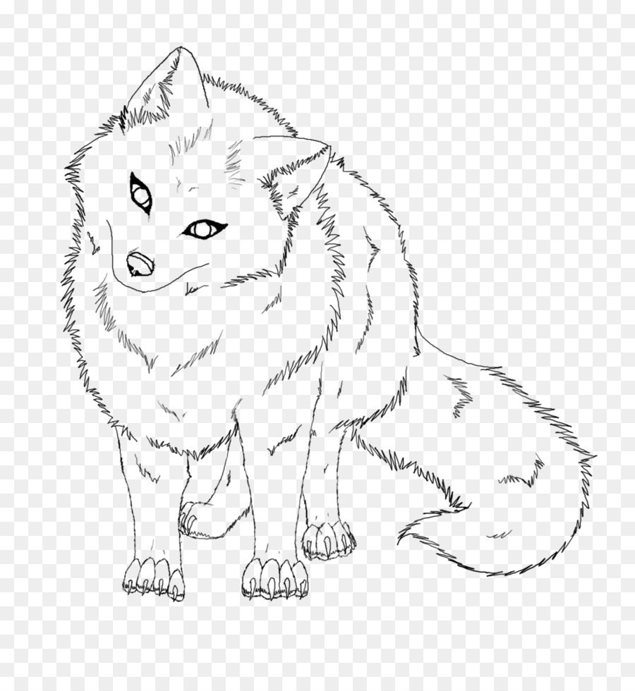 Arctic Fox Drawing Png - Book Black And White png download - 817*977 - Free Transparent ...
