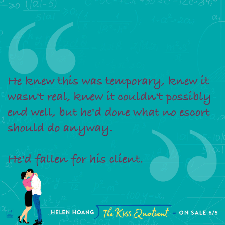 Kiss Quotient Png - BOOK REVIEW: 'The Kiss Quotient' by Helen Hoang -- 5 STARS
