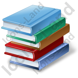 Book Icon Ico Png - Books Stack Icon, PNG/ICO Icons, 256x256, 128x128, 64x64, 48x48 ...