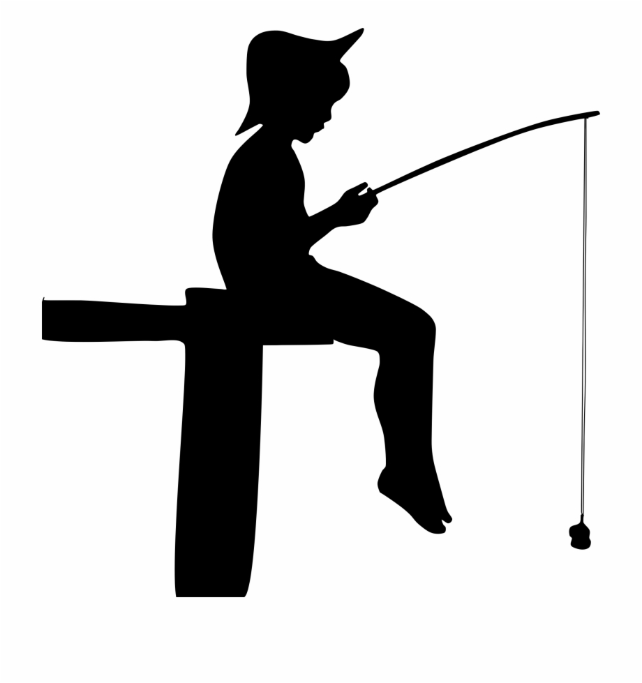 Fishing Silhouette Png - Boy, Fishing, Human, Male, People, Person, Silhouette - Fishing ...