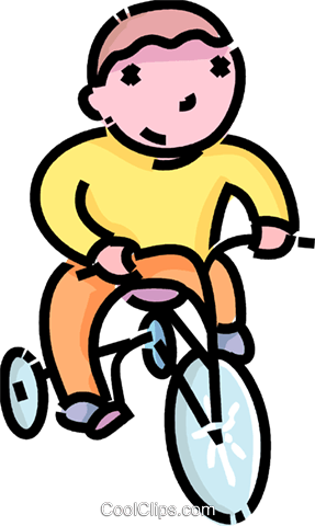 Boy Riding A Tricycle Png - Boy riding his tricycle Royalty Free Vector Clip Art illustration ...