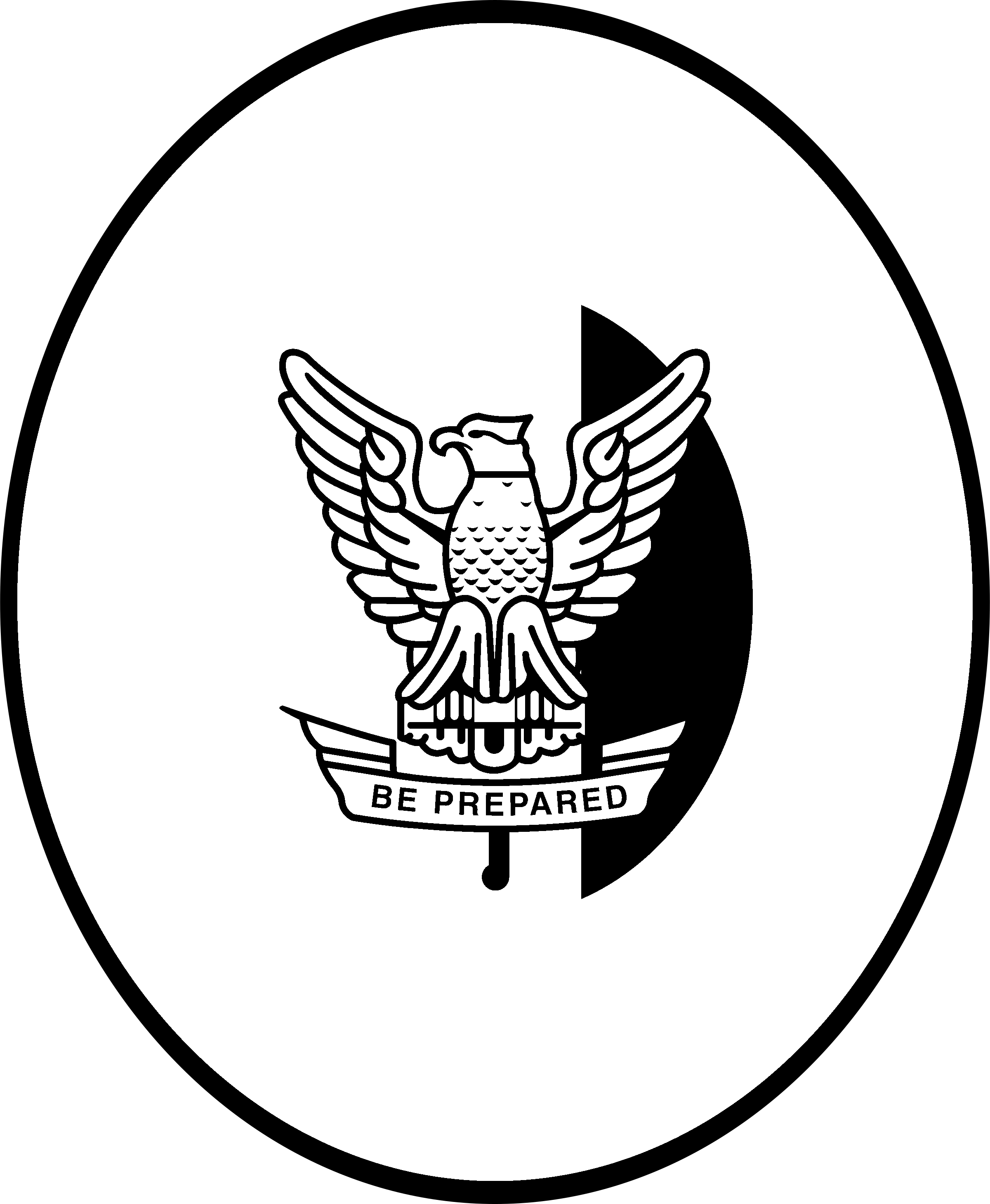 eagle scout png black and white free eagle scout black