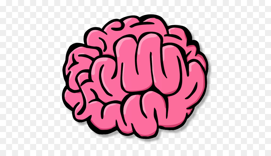 Cartoon Brain Png - Brain Cartoon Drawing Clip art - Brain png download - 512*512 ...