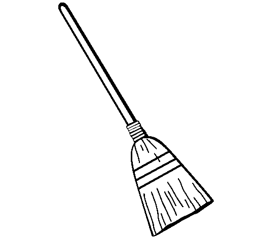 Broom Drawing Png - Broom Drawing at PaintingValley.com   Explore collection of Broom ...