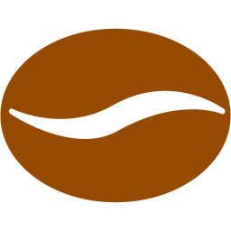 Brown Coffee Bean 2 Icon Free Brown Co Png Images Pngio