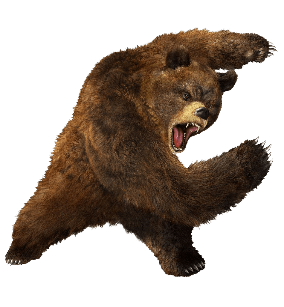Bear Png - Brown Greezly Bear Png Image PNG Image