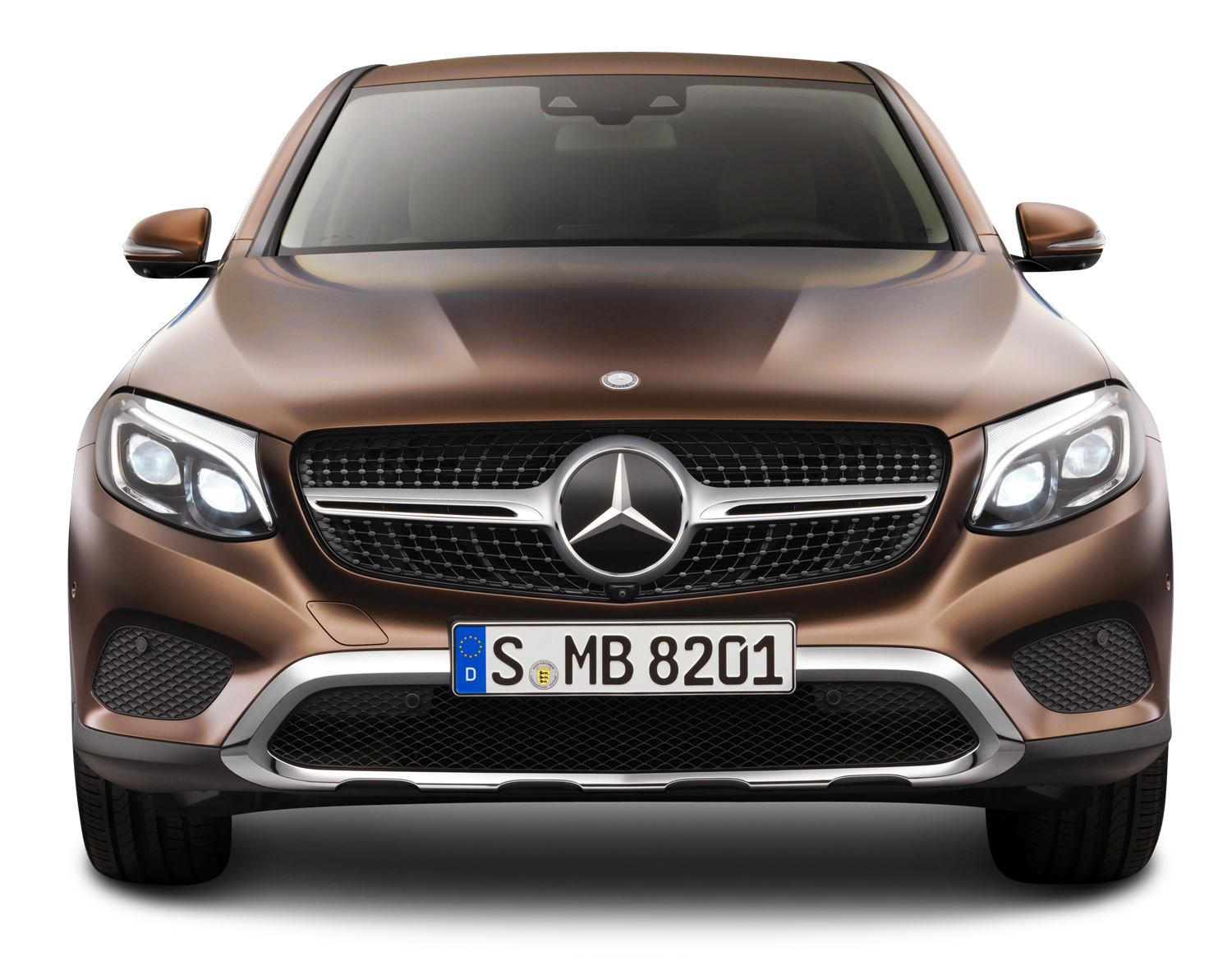 Front Of Car Png - Brown Mercedes Benz GLE Coupe Front View Car PNG Image - PngPix