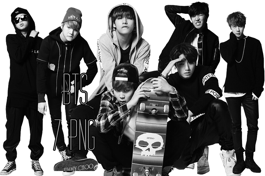 bts png pack cool music by kamjong kai on deviantart bts black and white png 900 600