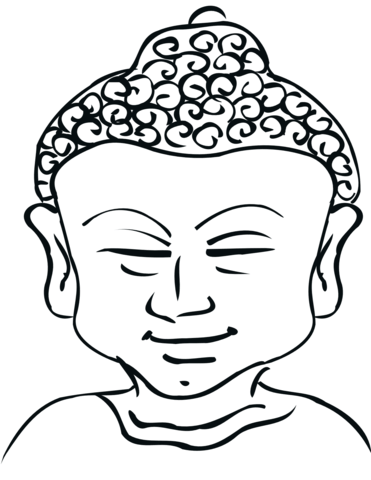 Buddha Coloring Pages Png - Buddha coloring page | Free Printable Coloring Pages
