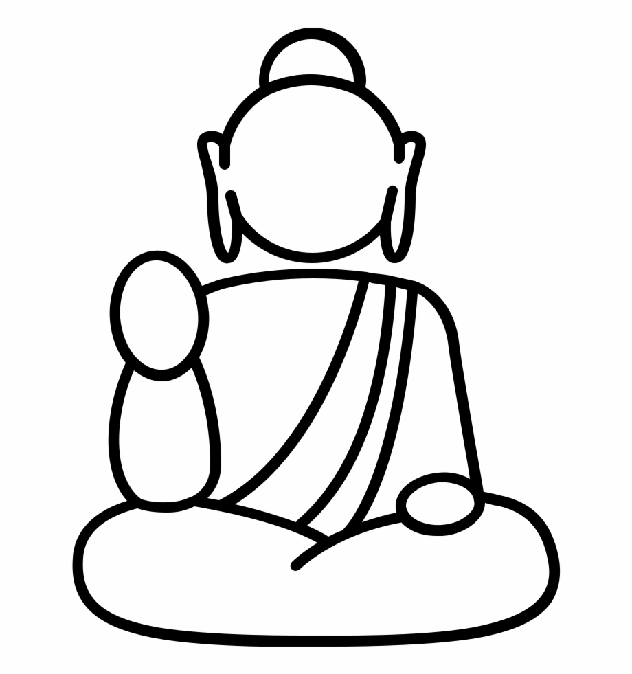 Buddha Coloring Pages Png - Buddha Coloring Pages Colouring Printable Mandala Laughing ...