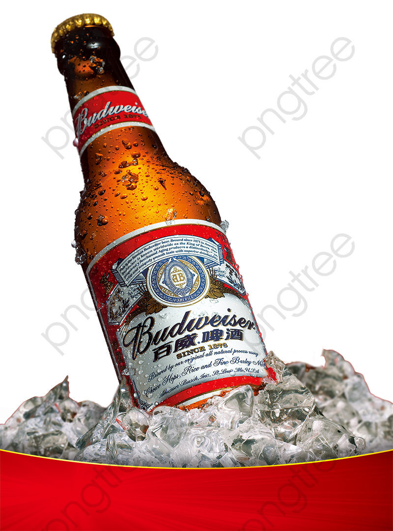 Budweiser Png - Budweiser Products In Kind, Iced, Ice, Wine PNG Transparent ...