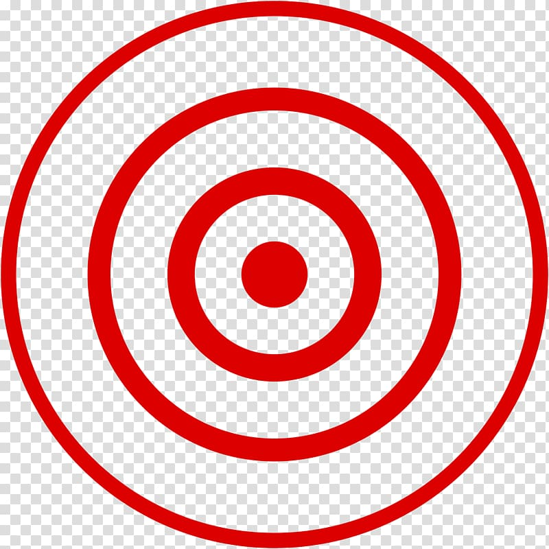 Clipart of a bullseye vector or color illustration. Clipart of a red blue  and white colored bullseye the center of the target