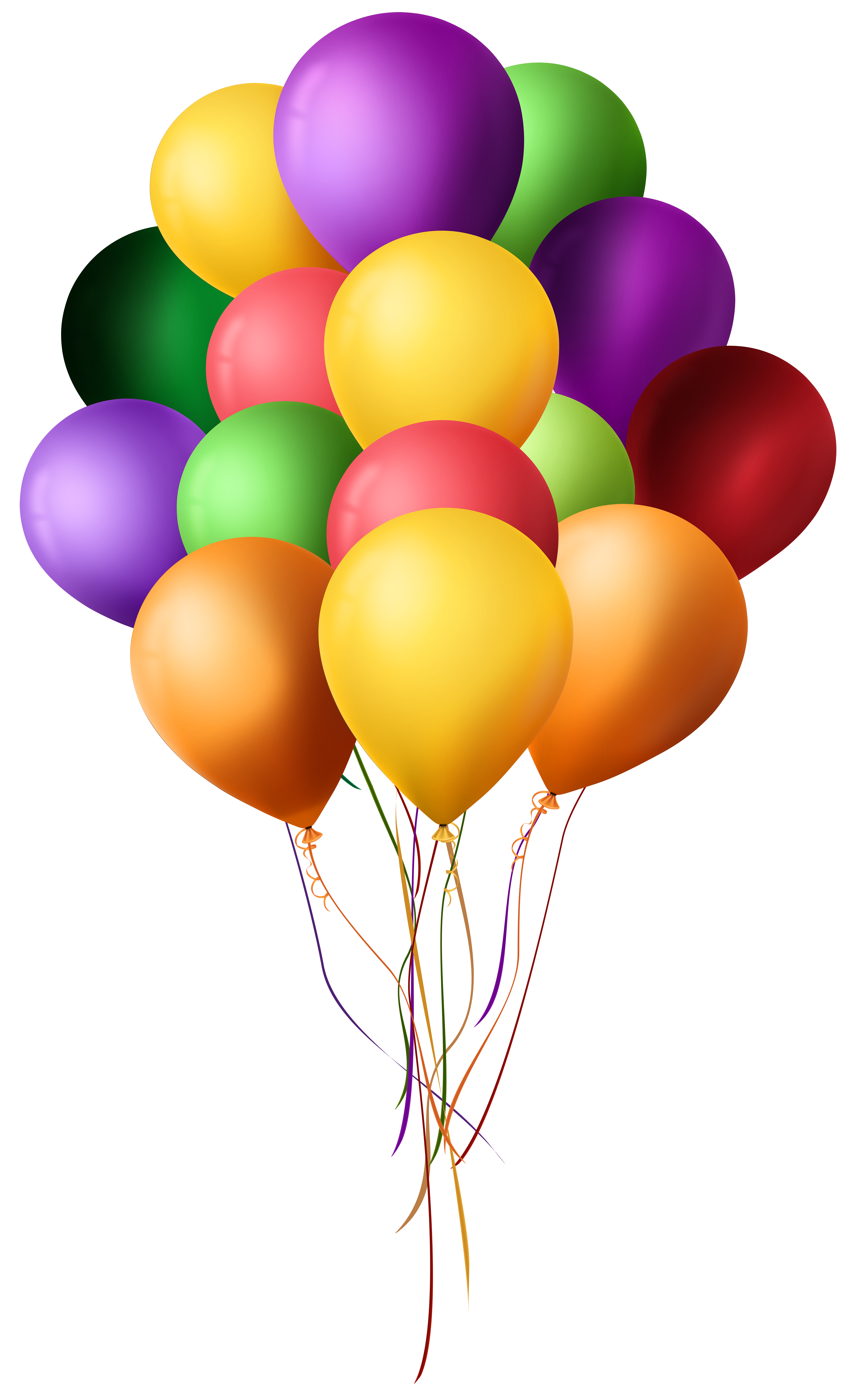 Balloons Png - Bunch of Balloons PNG Clip Art
