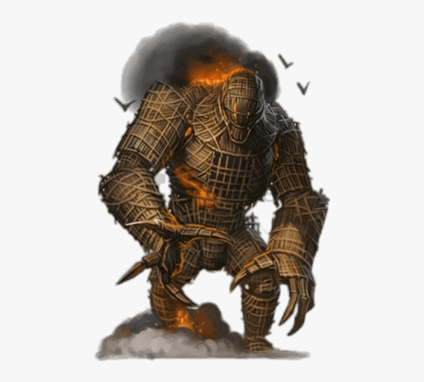 Wicker Man Png - Burning Wicker Man Pathfinder Png Image With Transparent ...