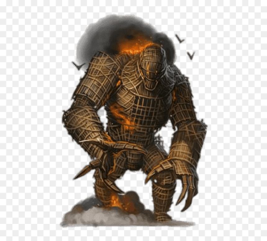 Wicker Man Png - Burning Wicker Man Pathfinder Png Image With Transparent - Wicker ...