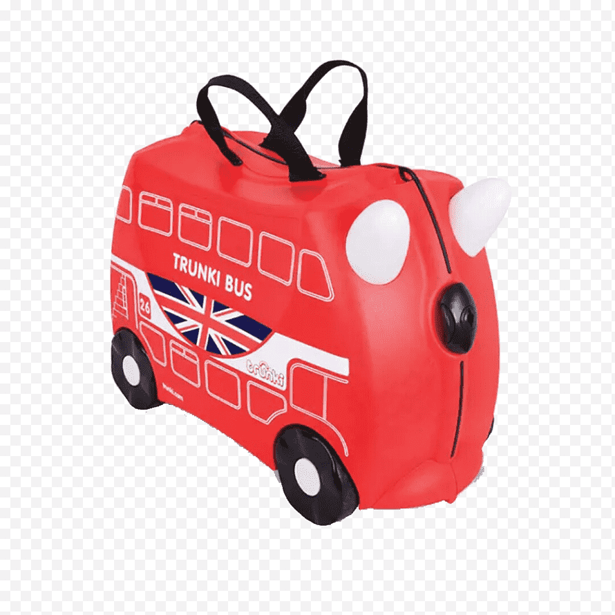 New Routemaster Png - Bus New Routemaster Trunki Suitcase Hand luggage, Red Bags, child ...