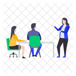 Business Meeting Icon Of Flat Style Av Png Images Pngio