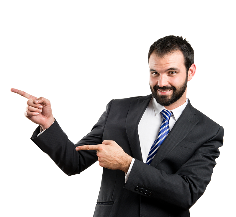 Businessman Png - Businessman Poiting PNG