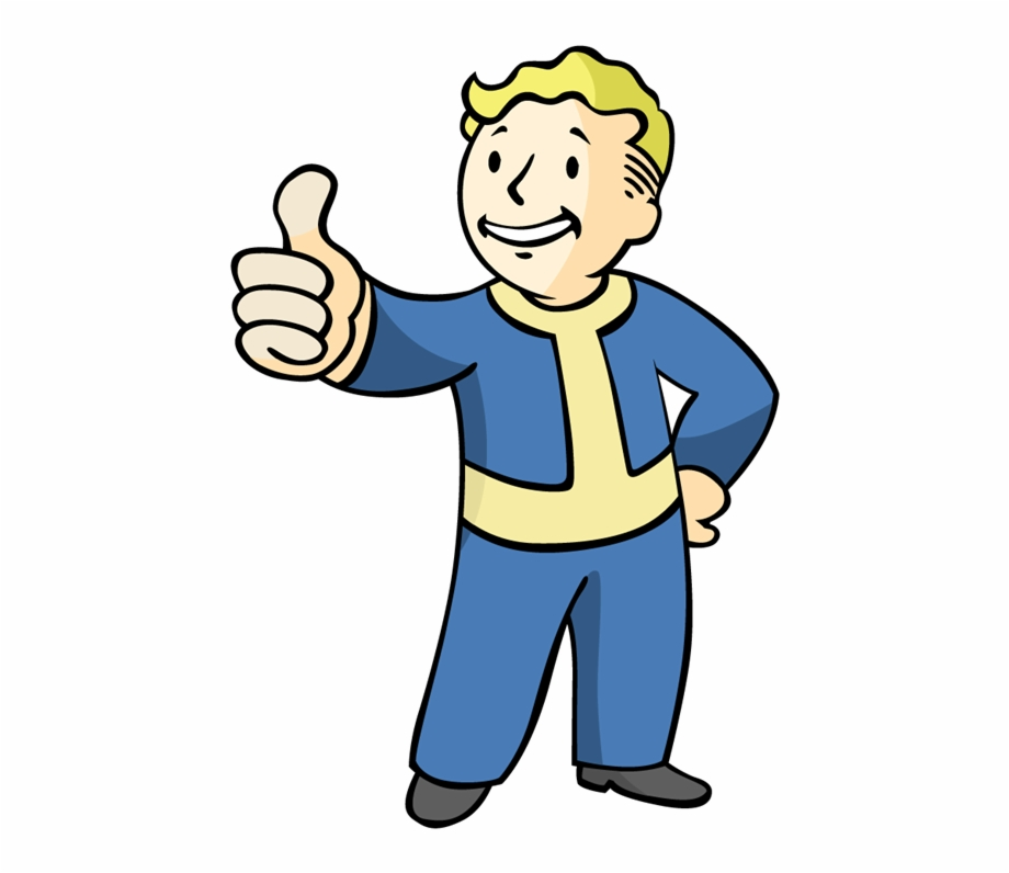 Vault Boy Phone Png - But The Engrossing, Soul Consuming World Of Computer - Fallout ...