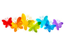 Rainbow Butterfly Png Border - Butterfly; Butterfly and rainbow clipart.  Transparent_Butterfly_and_Rainbow_Clipart_Picture.png?m=1399672800