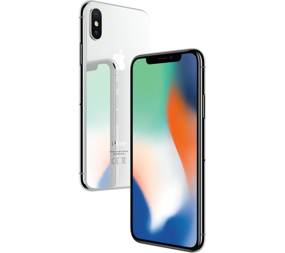 Apple Iphone X  256 Gb  Silver  Unlocked  Gsm Png - BuySPRY: Apple iPhone X 256GB Silver GSM Unlocked 5.8 Display ...