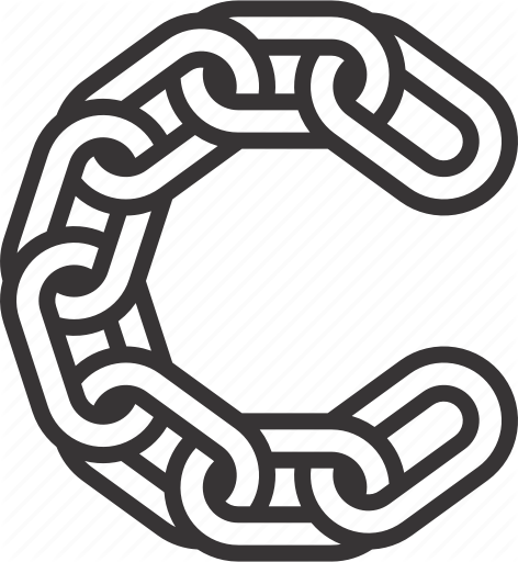 Chain Letter Png - C, chain, letter, link icon